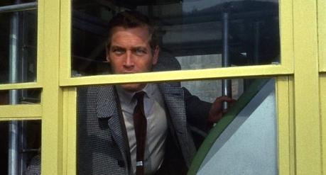 Torn Curtain: Paul Newman's Charcoal Brown Flannel Suit