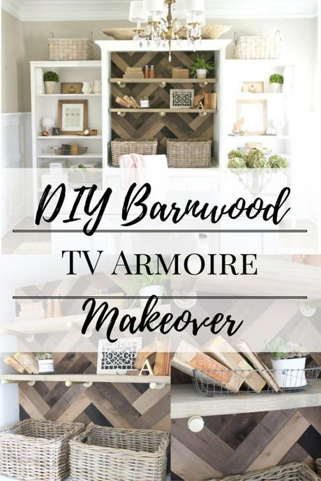 Barnwood Project: TV Armoire Makeover