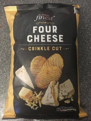 Today's Review: Tesco Finest Crinkle Cut Four Cheese Crisps