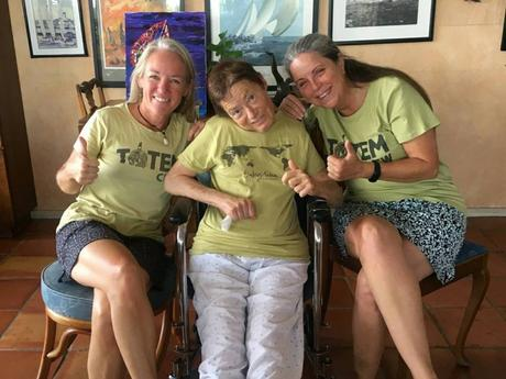 In Miami with Kerry (ThumbsUp International) and Patty (Voyage into Healing)