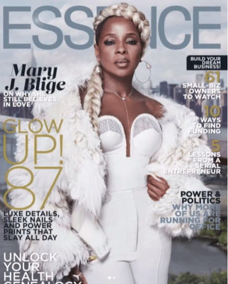 #TheGlowUp Mary J. Blige Covers Essence Talks New Movie  Mudbound