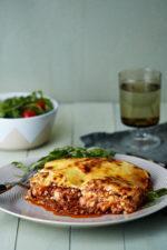 Easy protein noodle low-carb lasagna