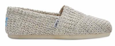 Shoe of the Day | TOMS Sweater Knit Alpargatas