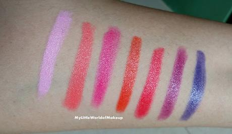 THE ONE EXPRESS LIP CRAYONS by ORIFLAME Review & Swatches