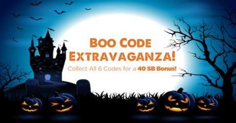 The October Swag Code Extravaganza (CA)