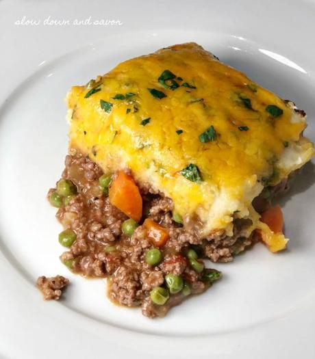 Cottage Pie, comfort food for when it finally feels like fall.