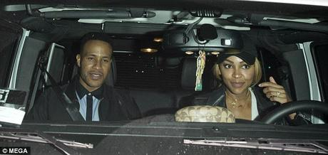 DeVon Franklin & Meagan Good Date Night In Hollywood