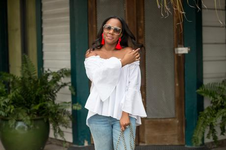 white off the shoulder top-5