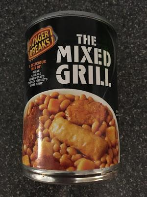 Today's Review: Hunger Breaks Mixed Grill In A Can