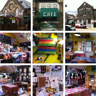 Whittington Park Cafe – colourful, tasty and great value for money