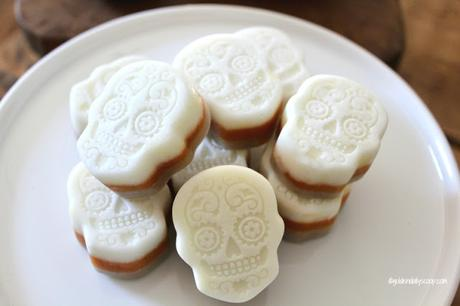 day of the dead frozen dog treats