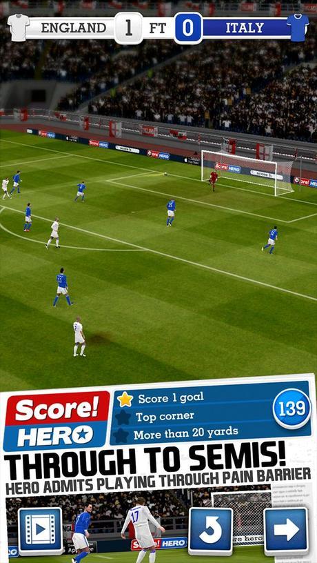Score! Hero | Apkplaygame.com