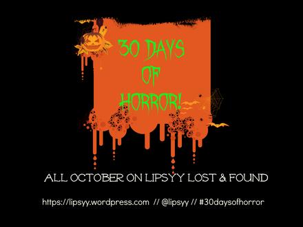 30 Days of Horror #19: Phantoms #HO17 #30daysofhorror