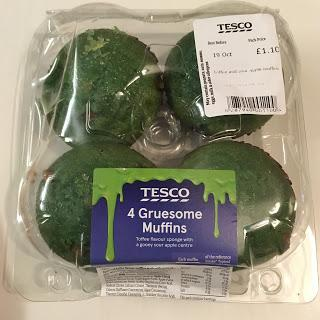 Today's Review: Tesco Gruesome Muffins