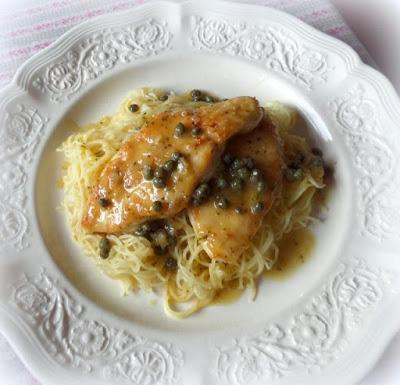 Chicken with Lemon & Capers