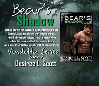 Bear's  Shadow by Desiree L. Scott @SDSXXTours  @dlscottauthor