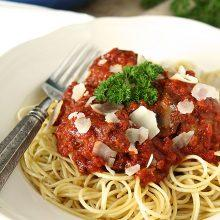 Perfect Meatballs with Ground Beef and Italian Sausage