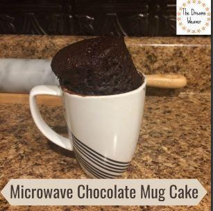 The Dreams Weaver ~ Microwave Chocolate Mug Cake