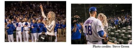 Julianna Zobrist Sings National Anthem At Cubs Game [WATCH]