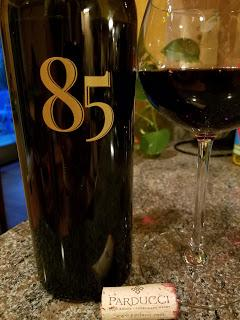 Celebrating Parducci Wine Cellars 85th Anniversary with Special Cuvee 85 & a True Grit Vertical