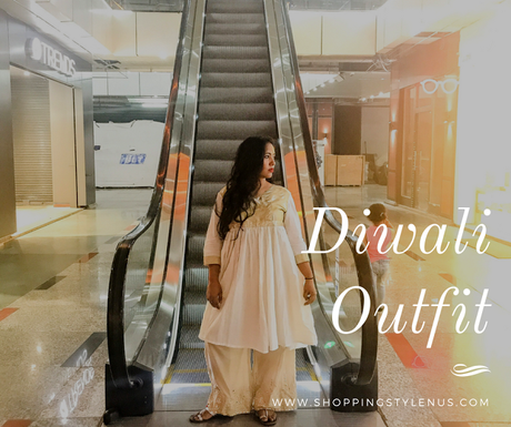 One Of My Best Thrift Finds Turned Into Grand Diwali Outfit!