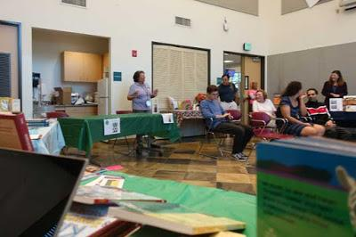 CELEBRATING LOCAL AUTHORS at the Mar Vista Library, Los Angeles, CA