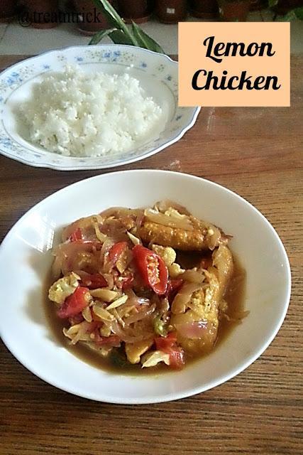 Lemon Chicken Recipe @ treatntrick.blogspot.com