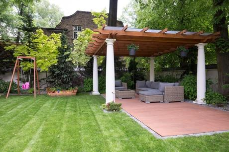 pergola in landscape design