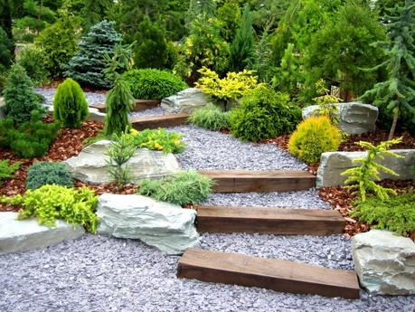 beautiful landscape design by local landscapers