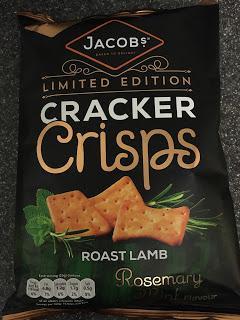Today's Review: Jacob's Cracker Crisps Roast Lamb, Rosemary & Mint