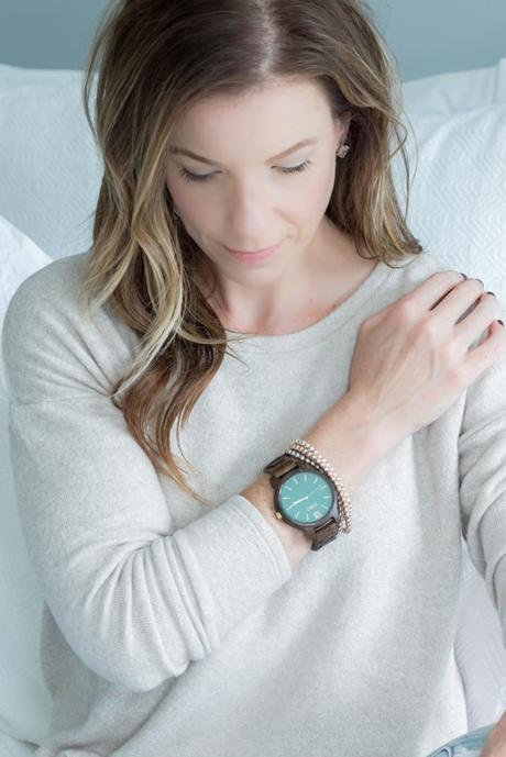 Light and Airy Fall Wardrobe and JORD Wooden Watch