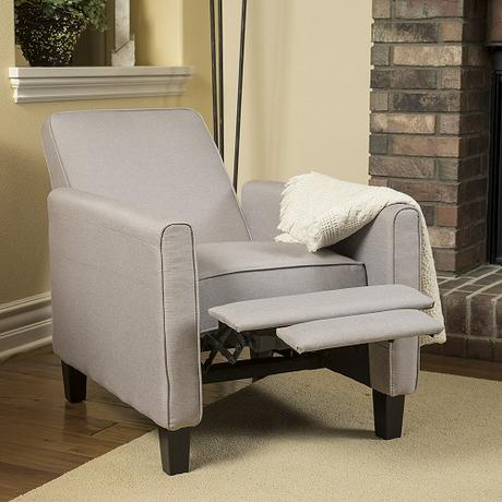 recliners for small spaces - Lucas Wheat Recliner
