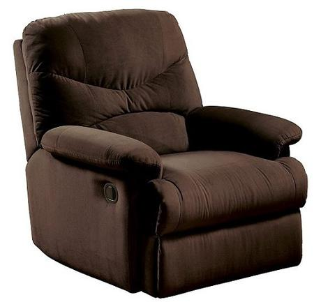 recliners for small spaces - acme arcadia
