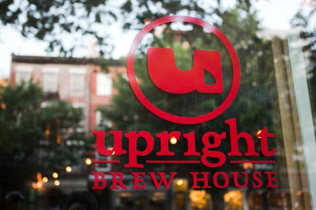 Four Gals, Two Guys, Nine Beers, Two Ciders, and a Plethora of Bar Snacks! An Afternoon at Upright Brew House in NYC.