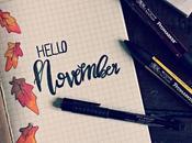 Bullet Journal November 2017 Layout