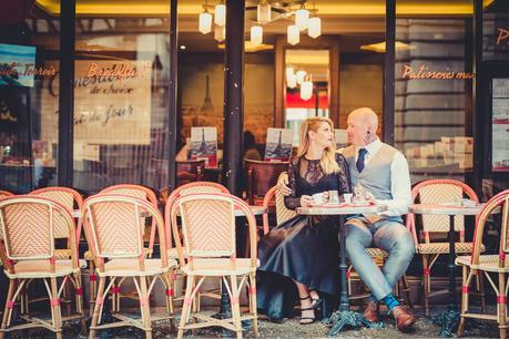 Alternative Couple Photo Session in Paris