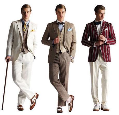 Evening Dress 1920s for Men