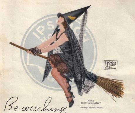 Iconic Flapper Witches of the 1920s