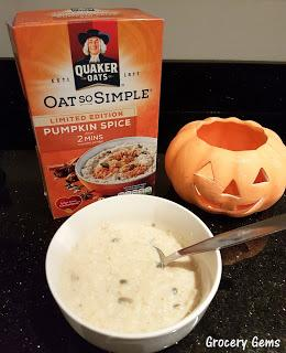 Review: New Quaker Oats Pumpkin Spice (UK)