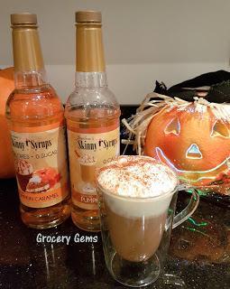 Review: Jordan's Skinny Syrups Pumpkin Spice & Pumpkin Caramel