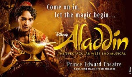 Aladdin the Musical (West End) Review