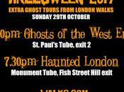 #London Walks Annual #Halloween Podcast