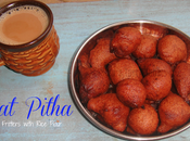 Koat Pitha Banana Fritters with Rice Flour