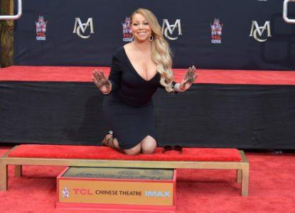 Mariah Carey Hand and Feet Are Immortalized