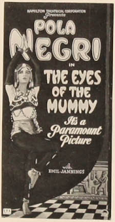 #2,451. The Eyes of the Mummy  (1918)