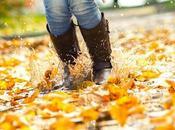 Stylish Spots Kicking Muddy Boots