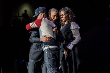 Chance The Rapper & The Obama's At The Obama Summit  [Pics!]