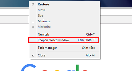 How to Reopen A Closed Window & Tabs In Chrome [4 Easy Ways]