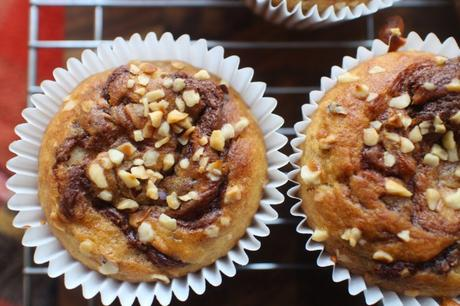 Recipe: Banana Nutella Muffins