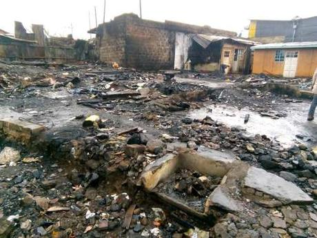 Death and burnt-out areas after the re-run elections: Kate Copstick in Nairobi